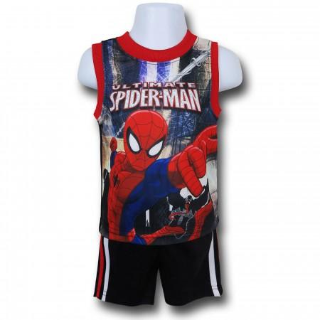 Spiderman Kids Tank & Short Set