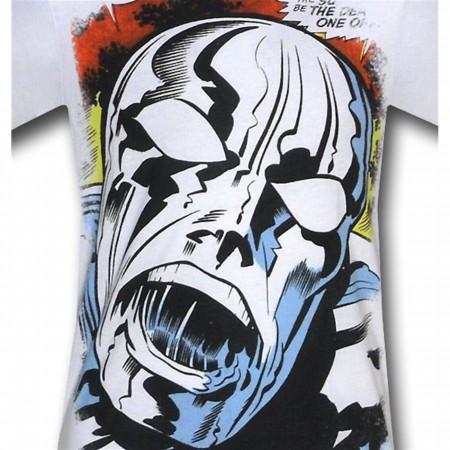 Silver Surfer BIG Kirby Face 30 Single T-Shirt