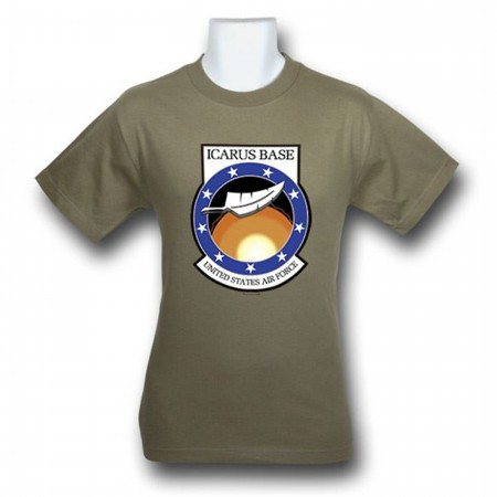 Stargate Universe Icarus Base Logo T-Shirt