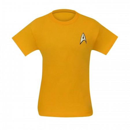 Star Trek Command Uniform T-Shirt