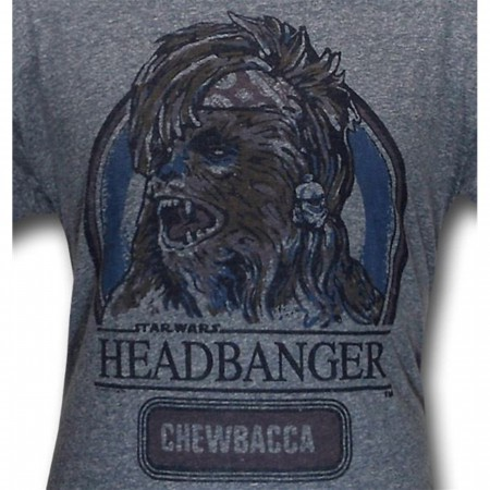Star Wars Headbanger Triblend Junk Food T-Shirt