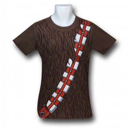 Star Wars Chewbacca Costume 30 Single T-Shirt