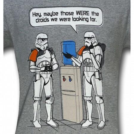 Star Wars Water Cooler Stormtroopers T-Shirt