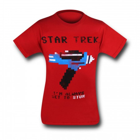 Star Trek Set To Stun T-Shirt