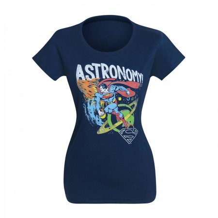 Superman Astronomy Women's T-Shirt