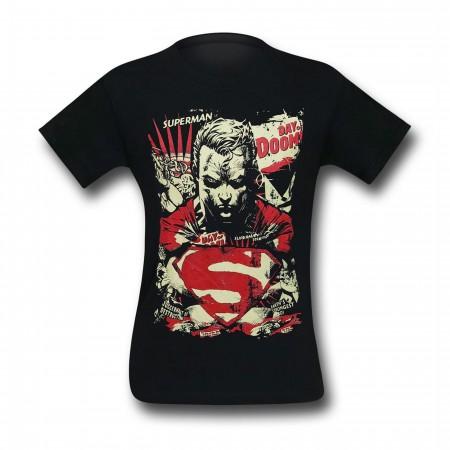 Superman Day of Doom Men's T-Shirt