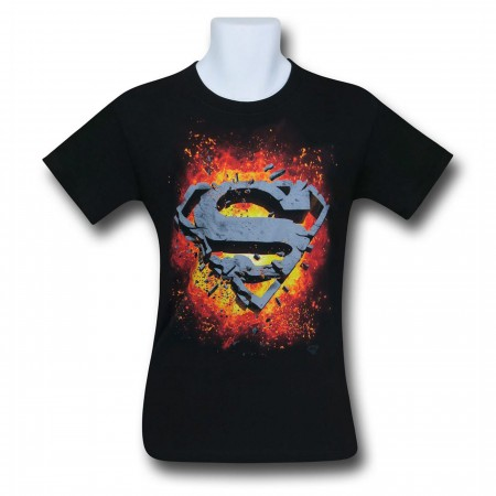 Superman Exploding Symbol T-Shirt