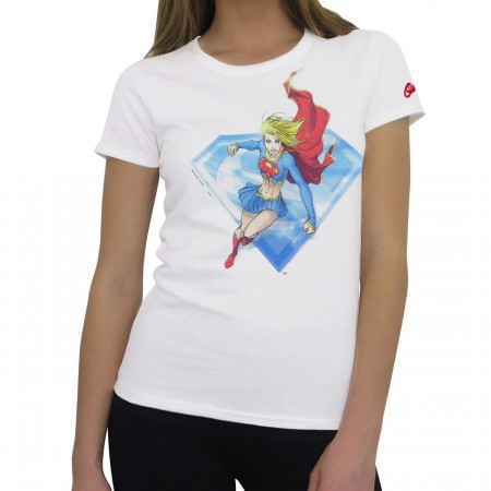 Supergirl by Michael Turner Women's T-Shirt