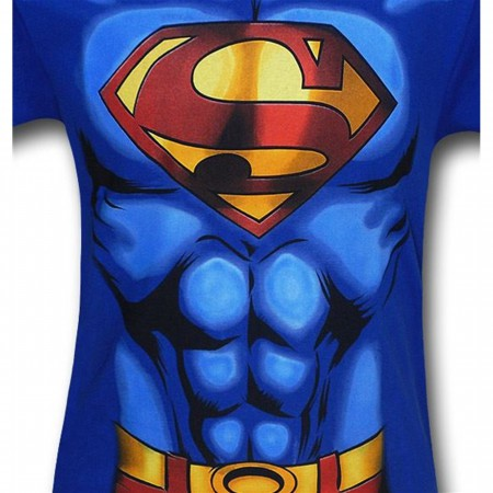 Superman Kids Muscle Costume T-Shirt