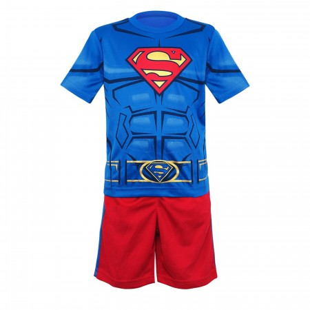 Superman Toddler Costume T-Shirt & Short Set