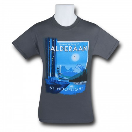 Star Wars Alderaan By Moonlight Men's T-Shirt
