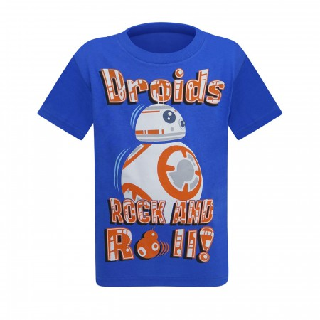 Star Wars BB-8 Droids Rock and Roll Kids T-Shirt