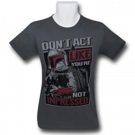 Star Wars Boba Fett Impressed T-Shirt