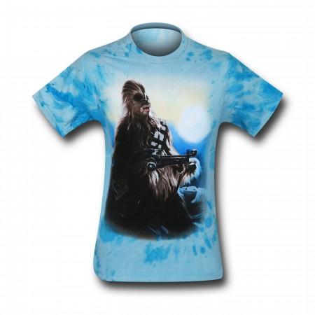 Star Wars Chewbacca Tie Dye Men's T-Shirt