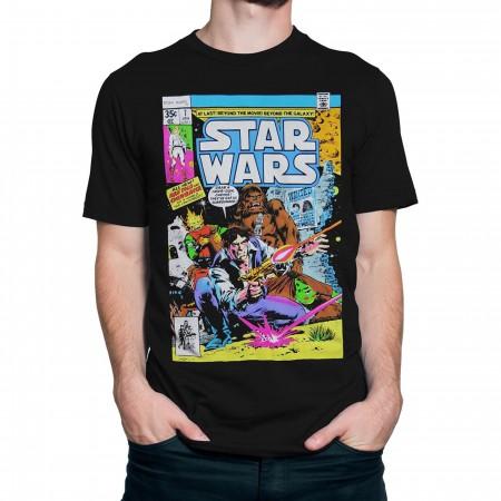 Star Wars Comic Cover #7 Men's T-Shirt