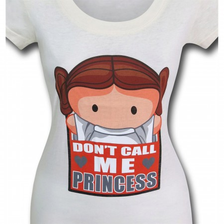 Star Wars Leia Don't Call Me Princess Women's T-Shirt