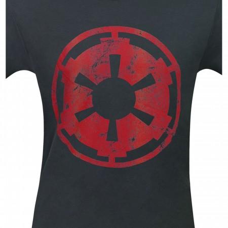Star Wars Empire Crest Distressed Men's T-Shirt
