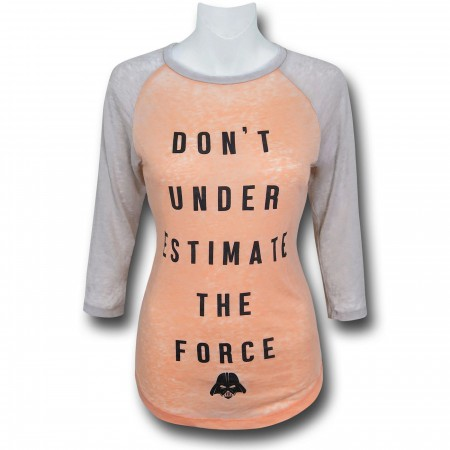 Star Wars D.U.T.F Women's Baseball T-Shirt