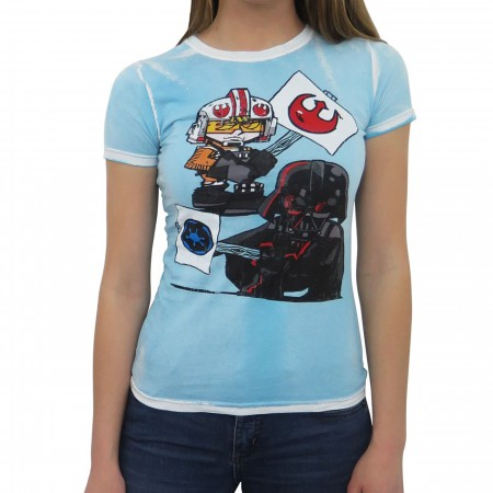 Star Wars Picket Signs Women's T-Shirt
