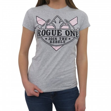 Star Wars Rogue One Join the Rebels Women's T-Shirt