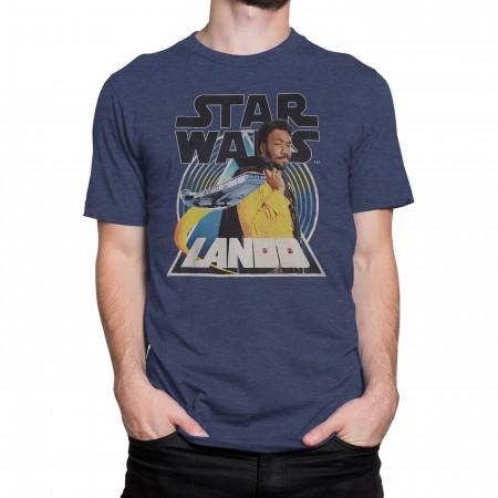 Star Wars Solo Lando Smooth Criminal Men's T-Shirt