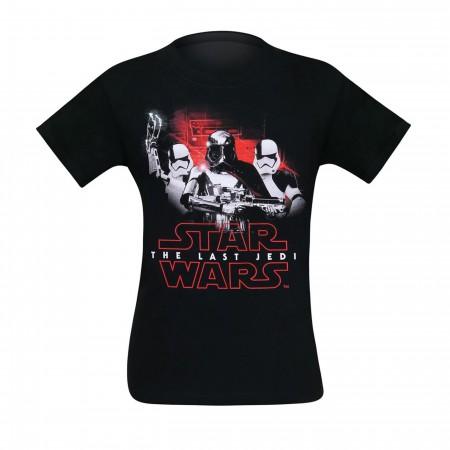 Star Wars Last Jedi Phasma & Troopers Men's T-Shirt