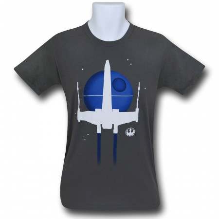 Star Wars Minimal X-Wing T-Shirt