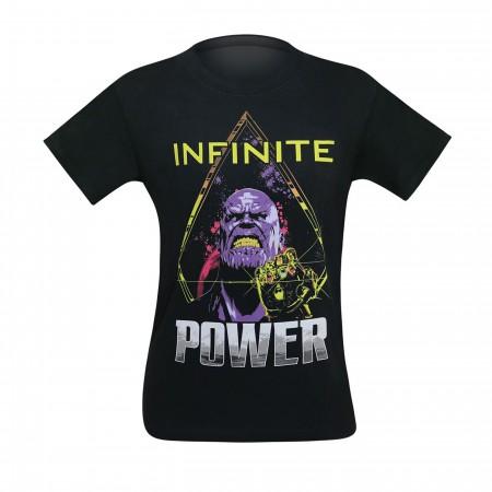 Avengers Infinity War Thanos Power Up Men's T-Shirt