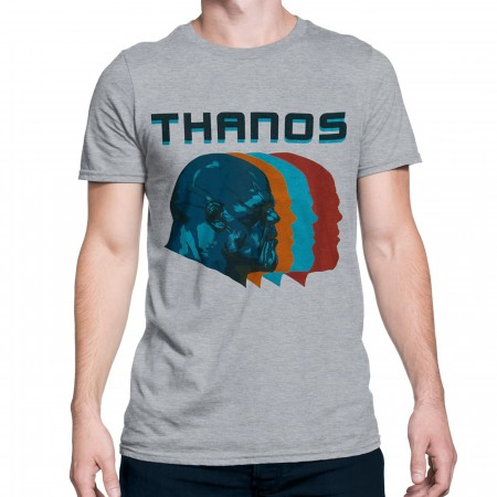 Thanos Profile Infinity War Men's T-Shirt