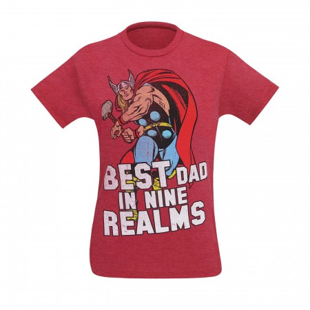 Thor Best Dad In Nine Realms Men's T-Shirt