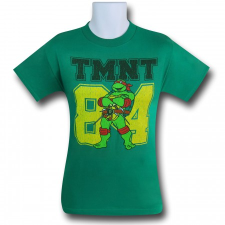 TMNT '84 on Green T-Shirt
