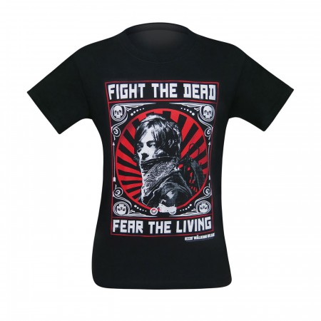 Walking Dead Daryl Dixon Fight The Dead Men's T-Shirt