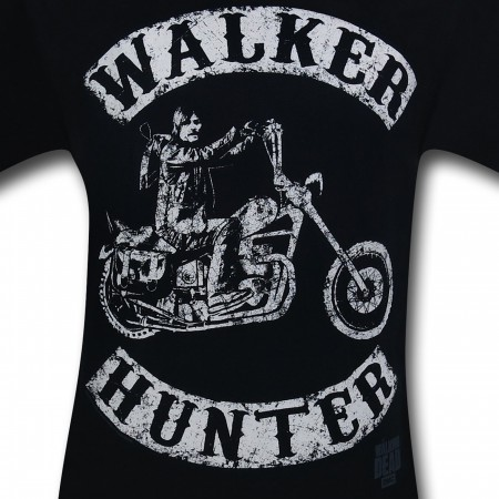 Walking Dead Walker Hunter Bike T-Shirt