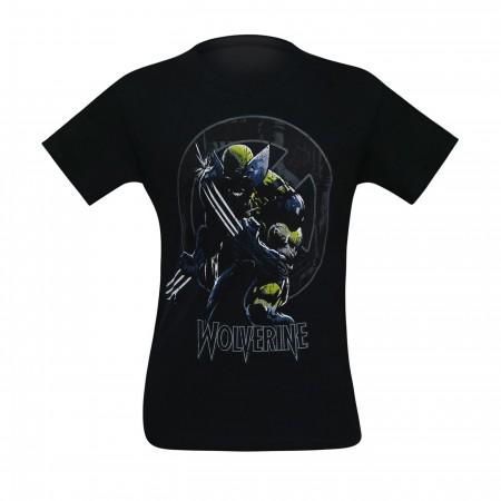 Wolverine X-Men Symbol Men's T-Shirt