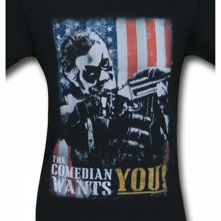 The Watchmen Comedian Wants You Men's T-Shirt