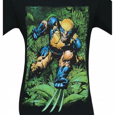 Wolverine Savage Land Rampage Men's T-Shirt