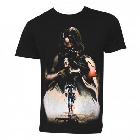 Winter Soldier No Regrets Men's T-Shirt
