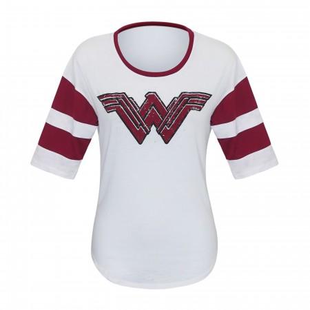 Wonder Woman Movie Logo Women's 3/4 Sleeve T-Shirt