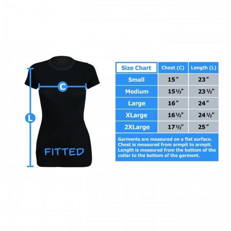 Wonder Woman Profile Sublimated Women's T-Shirt