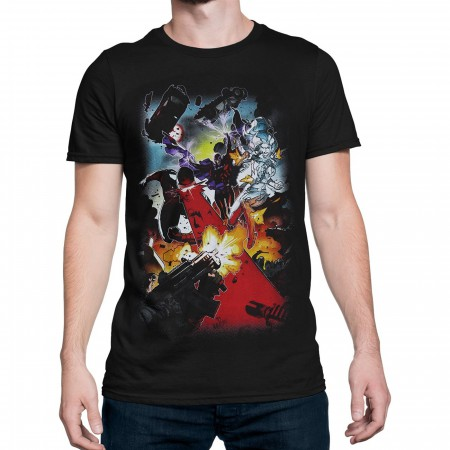 X-Men Mutant Battle Men's T-Shirt