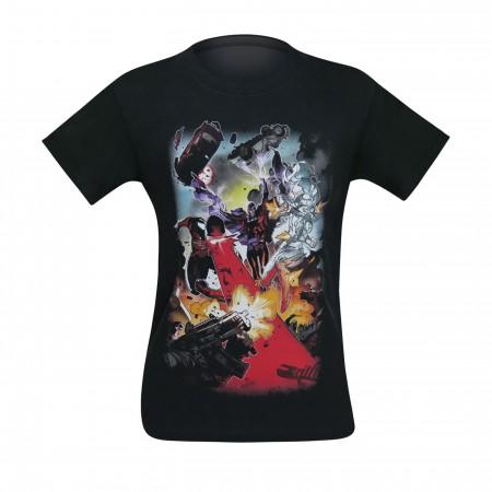 X-Men Mutant Battle Men's T-Shirt