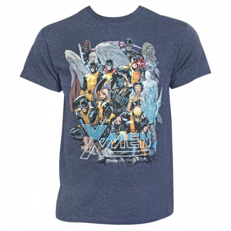 X-Men Past and Future United Men's T-Shirt