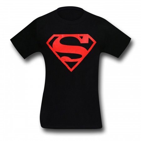 Superboy Red Symbol Kids/Youth T-Shirt