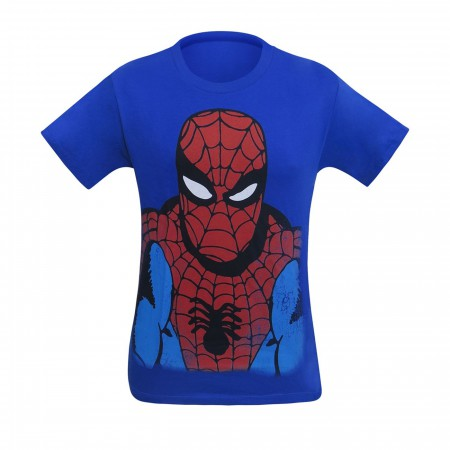 Spiderman Headshot Youth T-Shirt