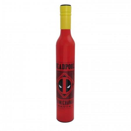 Deadpool Chimichanga Sauce Umbrella