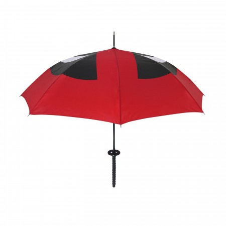 Deadpool Katana Over the Shoulder Umbrella