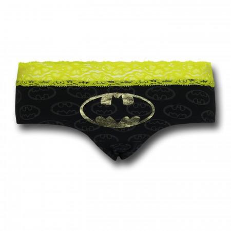 Batgirl Lace/Foil Women's Panty
