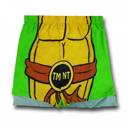 TMNT Shell Costume Men's Boxer