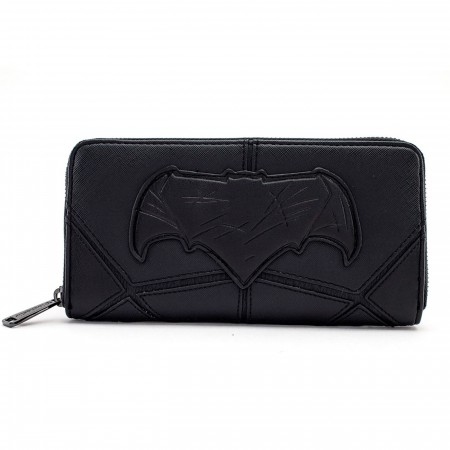 Batman Justice League Armor Zip Around Wallet