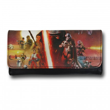 Star Wars Force Awakens Movie Poster Envelope Wallet